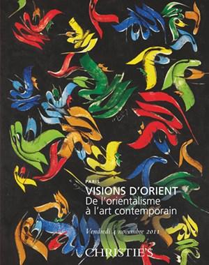 Visions d'Orient - De l'orient auction at Christies