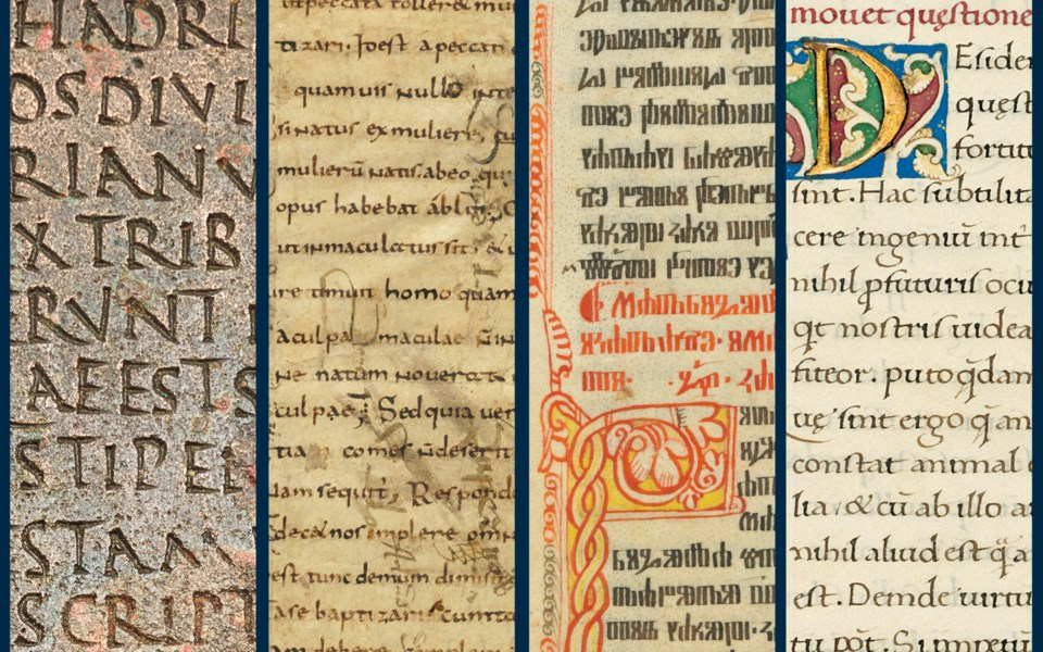 The History of Western Script: Important Antiquities and Manuscripts from the Schøyen Collection