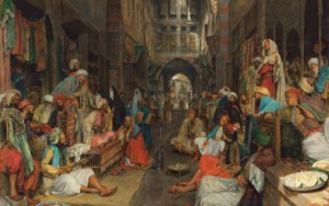 Orientalist Art auction at Christies