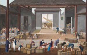 China Trade Paintings: Selecti auction at Christies