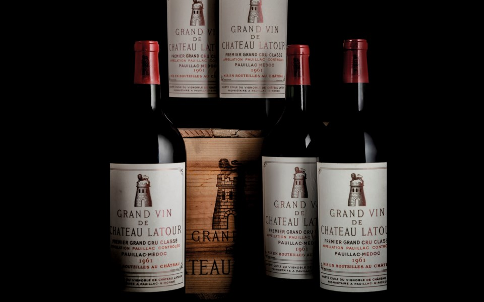 Finest and Rarest Wines and Spirits, Featuring Three Superb Private Collections