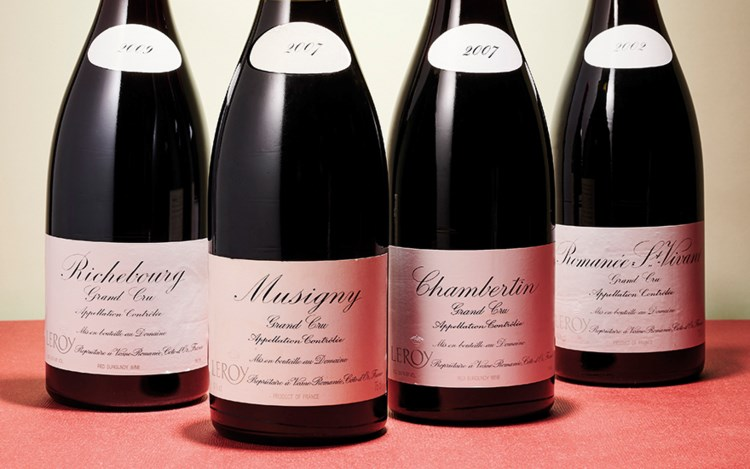 The Ultimate Private Collection Featuring The Greatest Burgundies