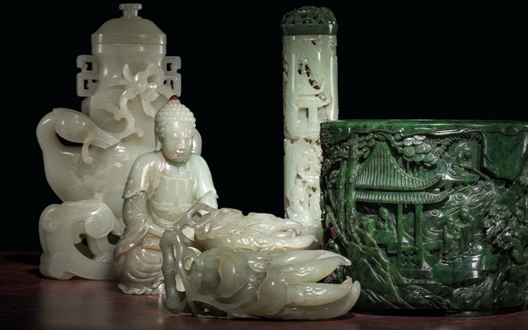 Chinese Jade Carvings From a Distinguished European Collection