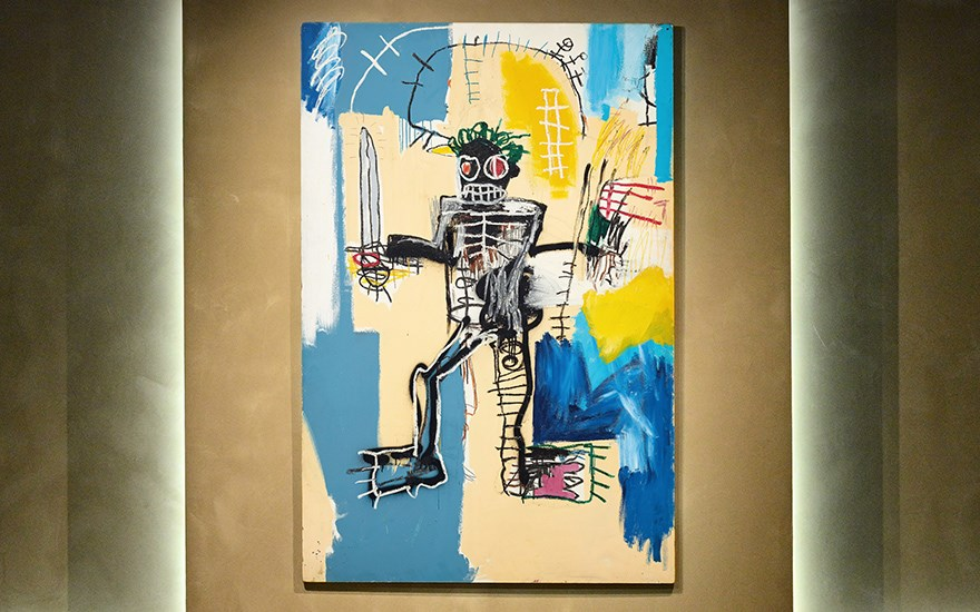 We Are All Warriors: The Basquiat Auction
