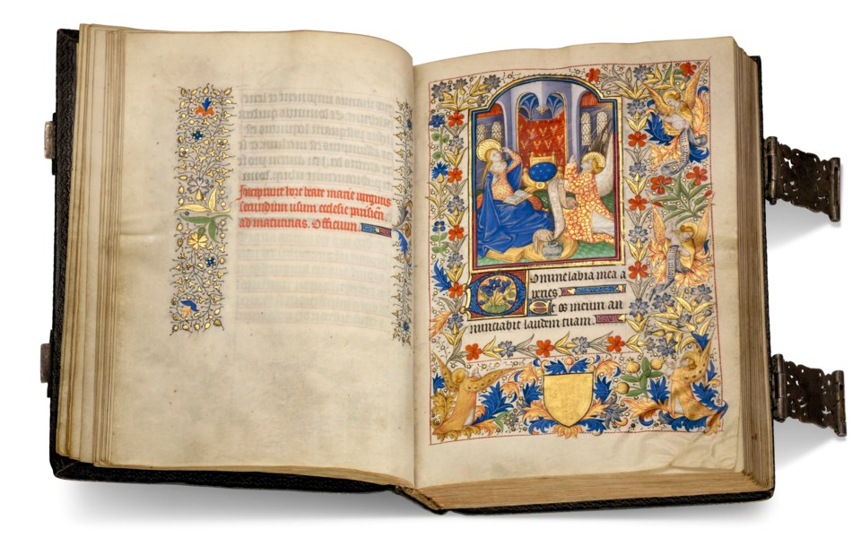 Illuminated Manuscripts and Early Printed Books from the Collection of Elaine and Alexandre Rosenberg