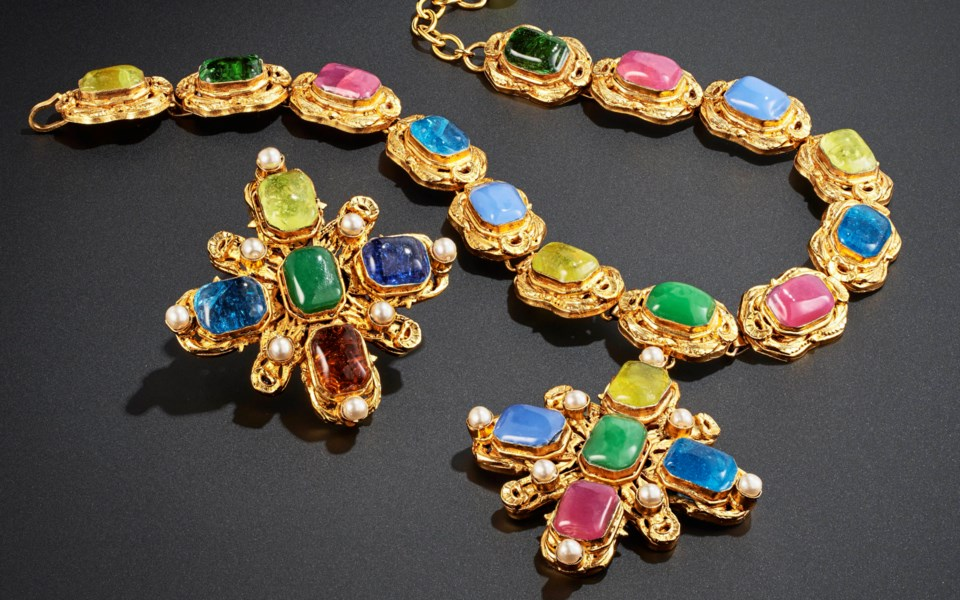 Susan and Karl: Important Chanel Fashion Jewelry from the Collection of Mrs. John H. Gutfreund