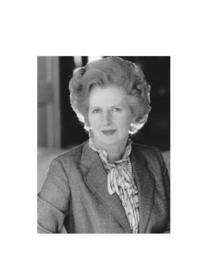 Mrs Thatcher - Property from t auction at Christies