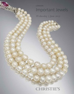 Jewellery auction at Christies