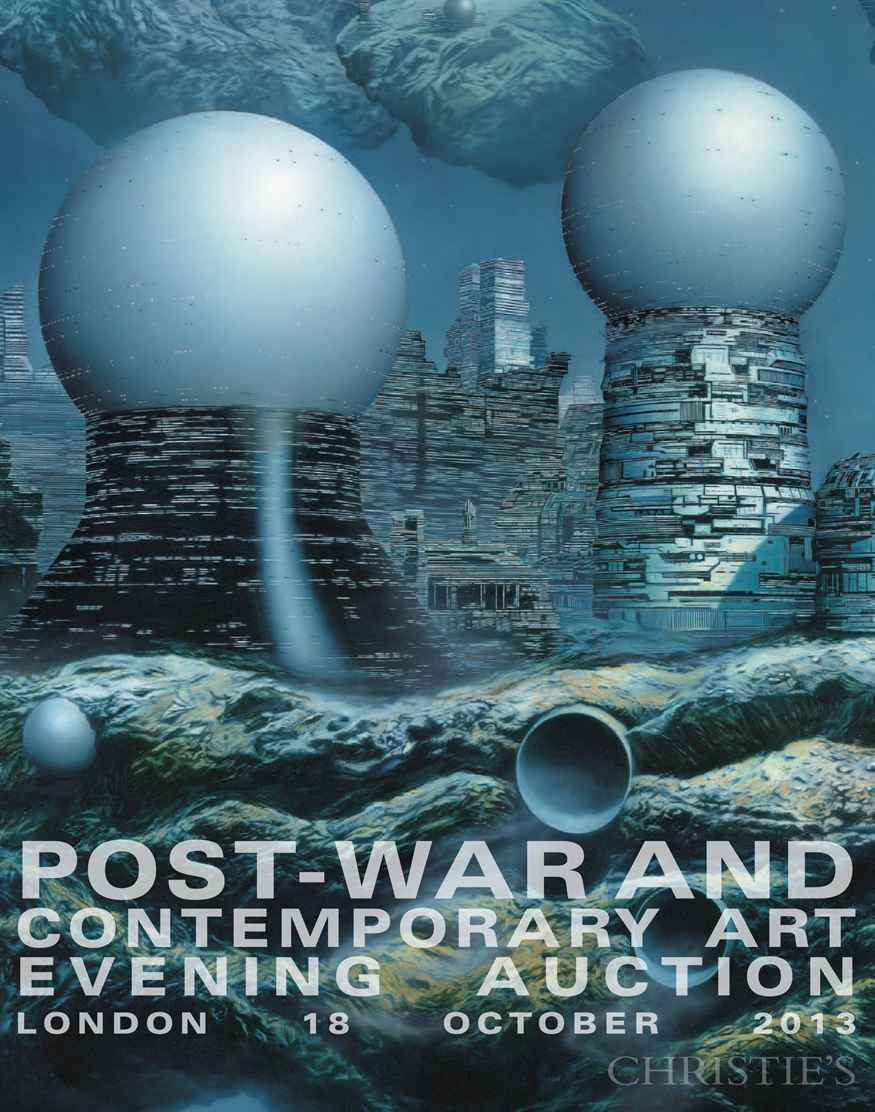 Post-War and Contemporary Art Evening Auction