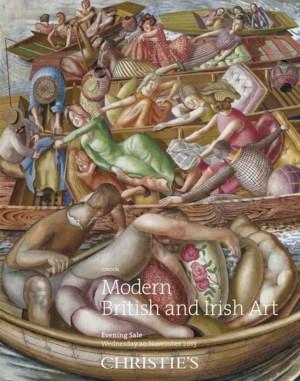 二十世紀英國及愛爾蘭藝術 (晚間拍賣) auction at Christies