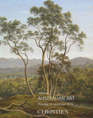 Australian Art auction at Christies
