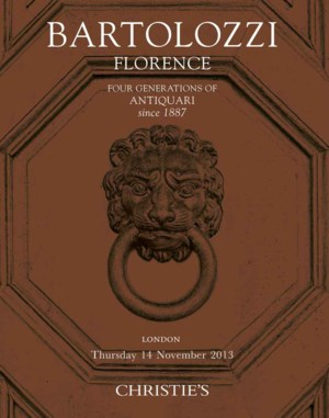 BARTOLOZZI, FLORENCE : Four ge auction at Christies