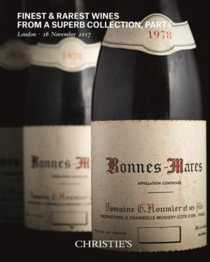 Finest & Rarest Wines from a S auction at Christies