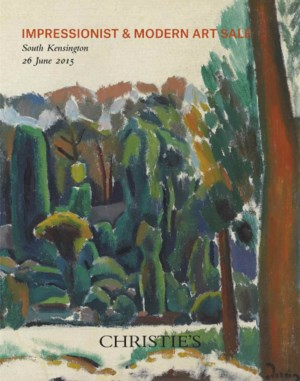 Impressionist & Modern Art auction at Christies