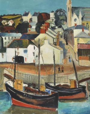 Modern British and Irish Art auction at Christies