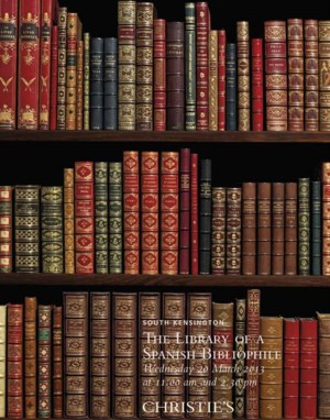 The Library of a Spanish Bibli auction at Christies