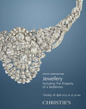 Jewellery Including the Proper auction at Christies