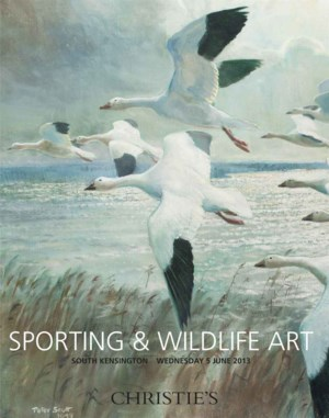 Sporting and Wildlife Art auction at Christies