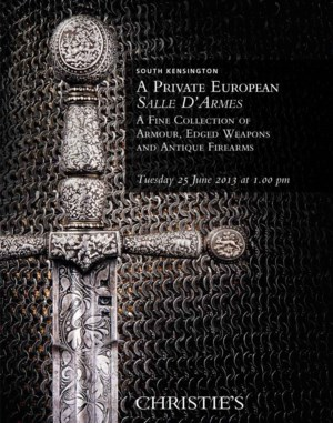 A Private European Salle D'Arm auction at Christies