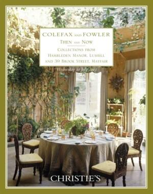 柯爾法斯及福勒公司今昔:英國盧舍爾漢布勒頓莊園及梅菲爾布魯克 auction at Christies