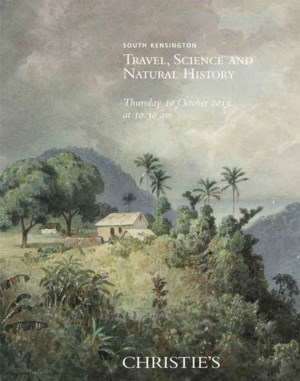 Travel, Science & Natural Hist auction at Christies