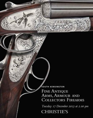 Antique Arms, Armour & Collect auction at Christies