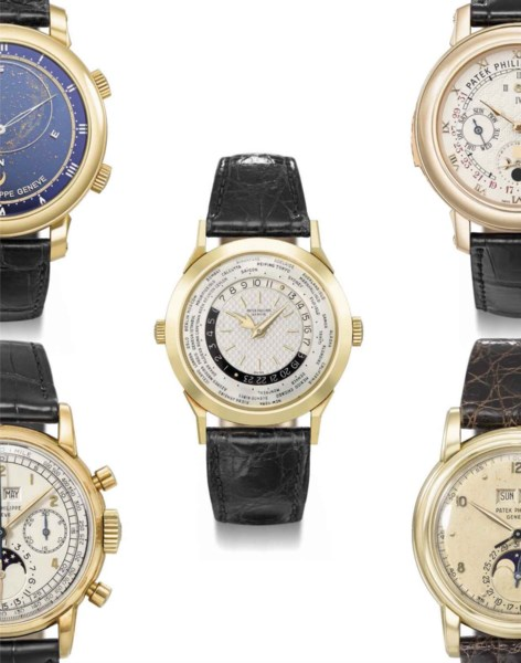 Rare Watches Including Important Private Collections