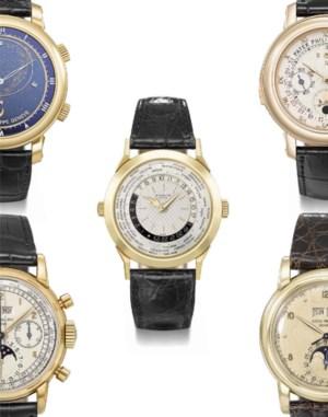 精緻名錶 auction at Christies
