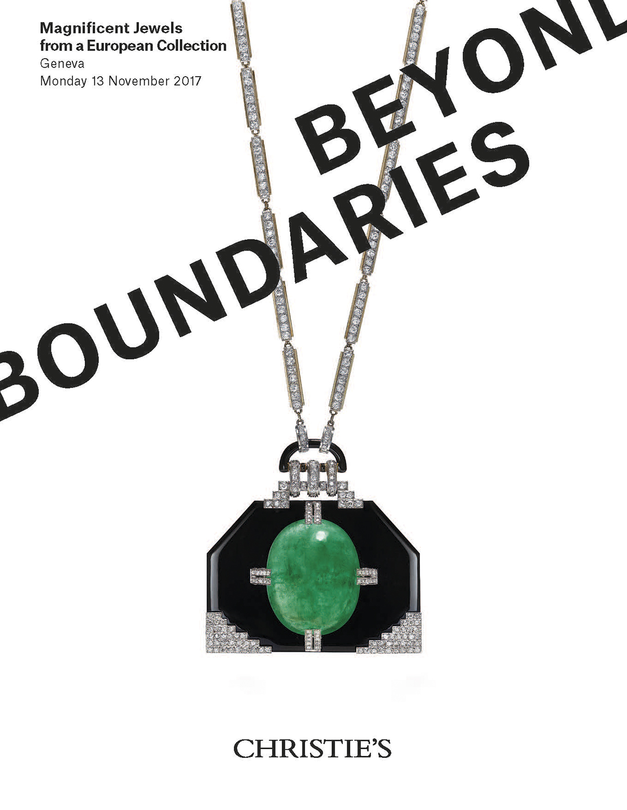 Beyond Boundaries Magnificent Jewels from a European Collection