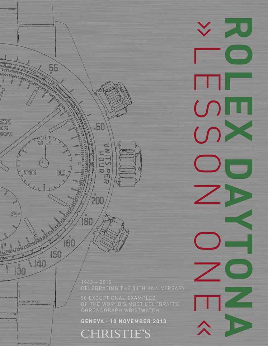Rolex Daytona Lesson One 50 exceptional examples of the worlds most celebrated chronograph wristwatch