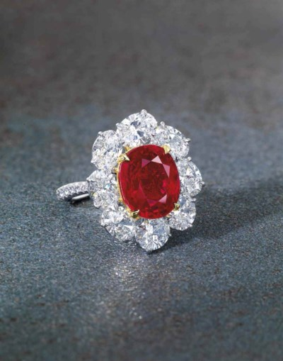 5 minutes with… A Burmese pigeon's blood ruby ring | Christie's
