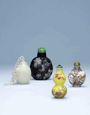 Important Chinese Snuff Bottle auction at Christies