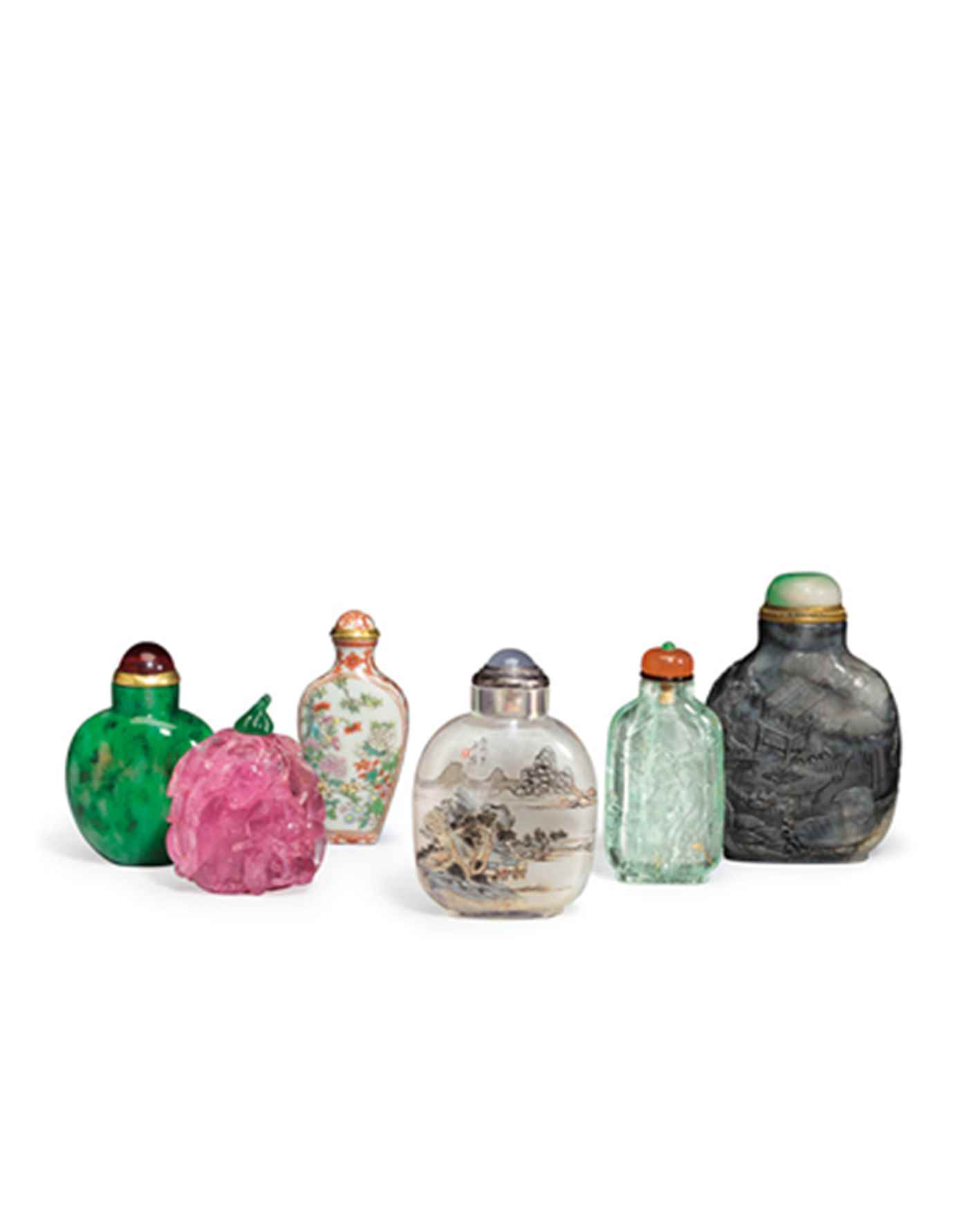 The Ruth and Carl Barron Collection of Fine Chinese Snuff Bottles Part V