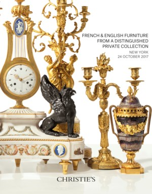 French & English Furniture fro auction at Christies