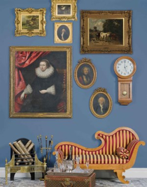 Interiors auction at Christies