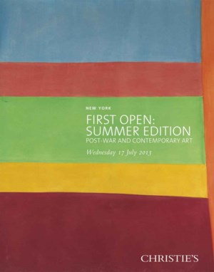 First Open: Summer Edition auction at Christies