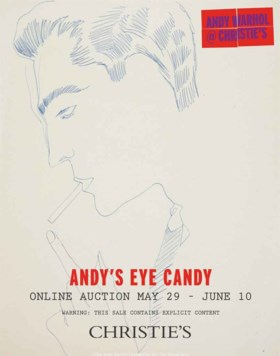 Unidentified Young Man, ANDY WARHOL (1928-1987)   Christies