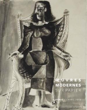 Oeuvres Modernes sur papier  auction at Christies
