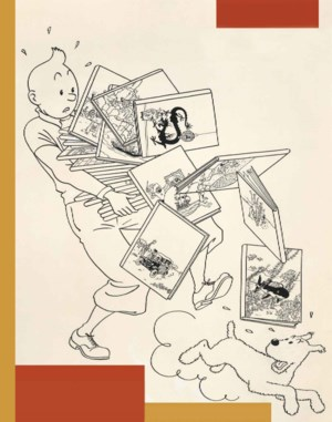 Tintin auction at Christies
