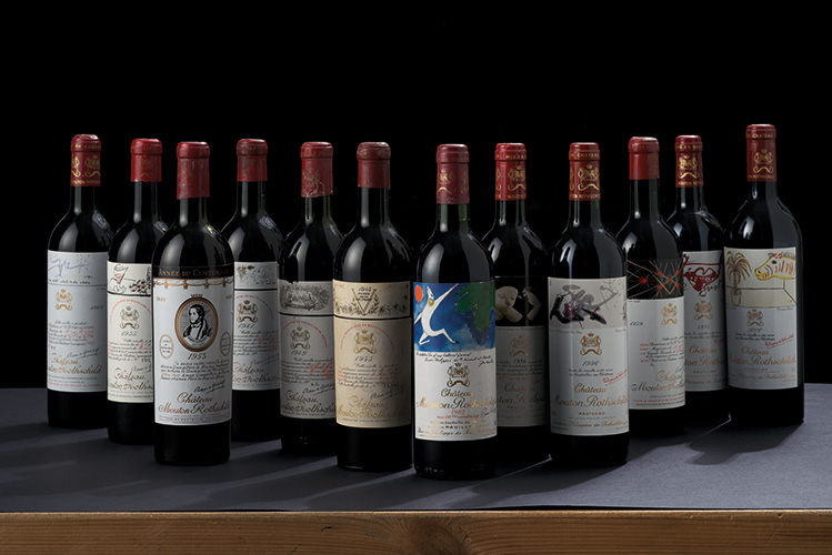 Vertical of Château Mouton Rot