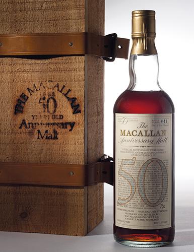 The Macallan 50 Year Old Anniv
