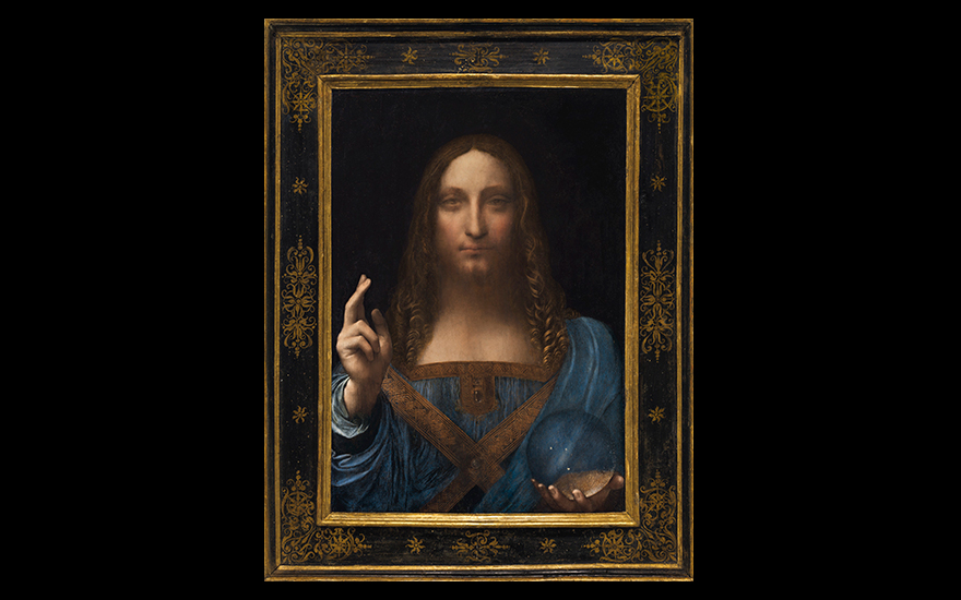Leonardo makes auction history