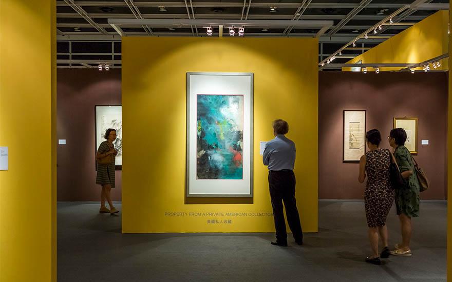 中國藝術在香港:收藏及市場簡史   書畫