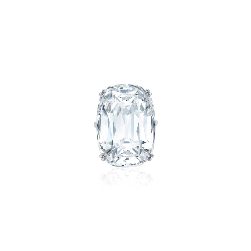 SUPERB DIAMOND RING, HARRY WINSTON