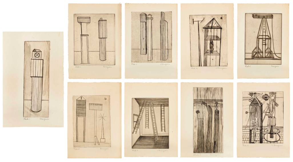 LOUISE BOURGEOIS (1911 - 2010)