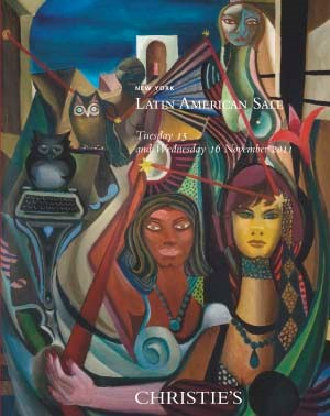 Latin American Paintings auction at Christies