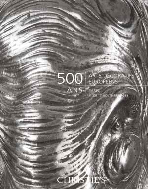 500 ans : Arts Décoratifs Euro auction at Christies