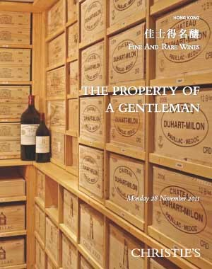 Fine and Rare Wines: The Property of a Gentleman