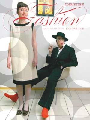 Fashion auction at Christies