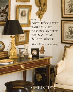 Arts Décoratifs, Tableaux et D auction at Christies